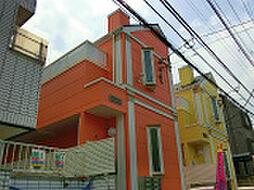 東京都新宿区大久保2丁目の賃貸アパートの外観