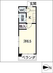 ピアチェーレ[4階]の間取り