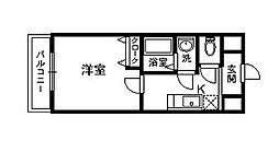 レクシア栄橋[502号室]の間取り
