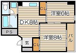 ラパンジール日本橋[4階]の間取り
