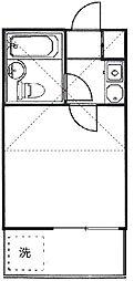 コーポマリーナ尾山台[2階]の間取り