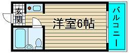 レガーレ大正[3階]の間取り