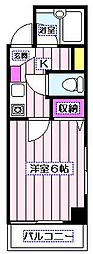 MULAN阿佐ヶ谷[4階]の間取り