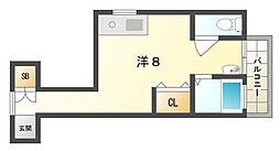 高島ハイツII[1階]の間取り
