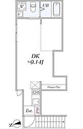 ララ ブラン[2階]の間取り