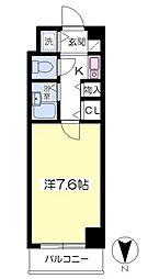 フロレスコ昭和町2階Fの間取り画像