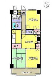 ドエルムラタ[305号室号室]の間取り