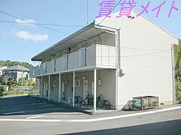 三重県伊勢市藤里町の賃貸アパートの外観