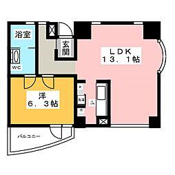 千代田ZERO1ビル[3階]の間取り