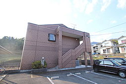 広島県広島市安佐南区山本8丁目の賃貸アパートの外観