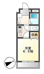 クレールアツタ[2階]の間取り