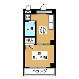 Forest Fujisatocho[4階]の間取り