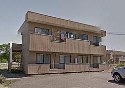 栃木県佐野市堀米町の賃貸アパートの外観