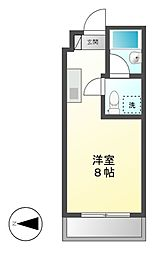 M-net1[4階]の間取り