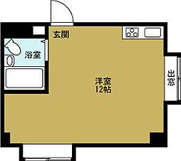 ジオナ本田[9階]の間取り