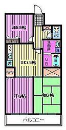 パークシティ浦和II[2階]の間取り