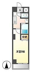 YMC葵(ワイエムシーアオイ)[3階]の間取り