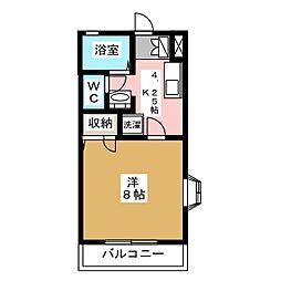 パラシオン[1階]の間取り