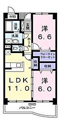 sunny side 志木II[2階]の間取り
