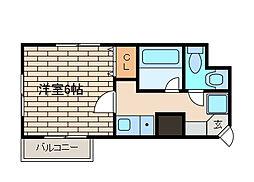 AXIS相模大野[6階]の間取り