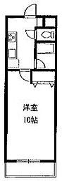 神奈川県相模原市中央区東淵野辺3丁目の賃貸マンションの間取り