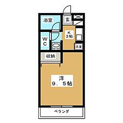 サニーフォレスト[2階]の間取り