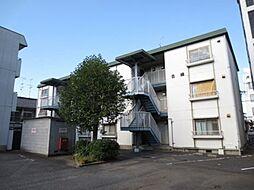 松田マンションB棟[203号室号室]の外観