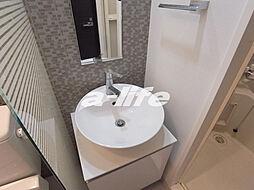 S-RESIDENCE神戸磯上通の洗面台
