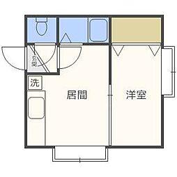 エクセレントヴィラN14[2階]の間取り