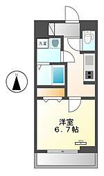 コンフォート・テラス[2階]の間取り