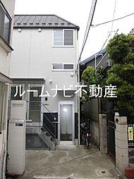 東京都北区志茂5丁目の賃貸アパートの外観