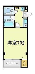 阿美マンション[4階]の間取り