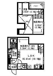 RadIAnce新松戸[1階]の間取り