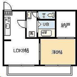 utsuwa[10号室]の間取り