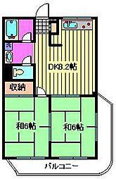 河本ビル[3階]の間取り