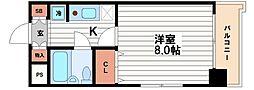 ラーク浜田ビル[7階]の間取り
