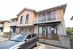 岡山県岡山市中区国富の賃貸アパートの外観