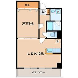 サークル10ビル[9階]の間取り