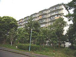 粟生第四住宅4号棟[5階]の外観