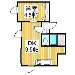 LIFE泉[3階]の間取り