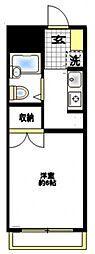 エスプリ片倉C棟[1階]の間取り