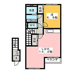 サンコート ブロッコリー[2階]の間取り