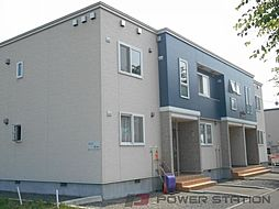 北海道江別市萌えぎ野東の賃貸アパートの外観