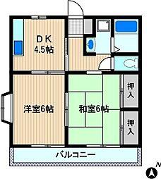妙高ハイツ[2階]の間取り