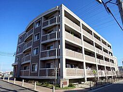 愛知県岡崎市柱町字下川田の賃貸マンションの外観