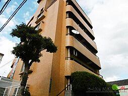 大阪府大阪市東住吉区住道矢田7丁目の賃貸マンションの外観