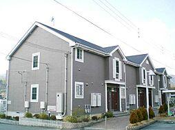 和歌山県橋本市橋谷の賃貸アパートの外観
