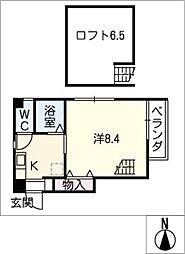 I・S court[6階]の間取り