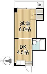 ル・モンド柳沢[2階]の間取り