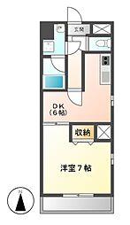 三高 ANNEX BLD[3階]の間取り